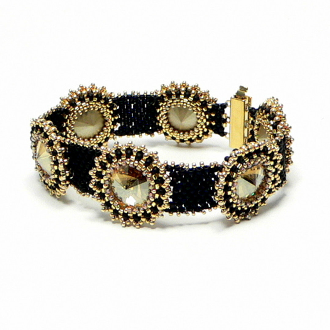"Armband ""Golden Shadow"""