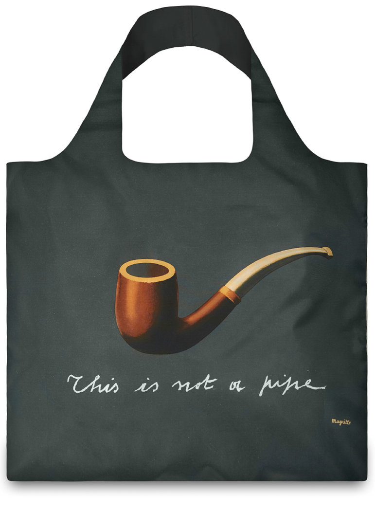 "Shopper Kunst-Kollektion ""This is not a pipe"""