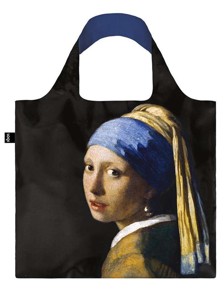 Shopper Kunst Kollektion Vermeer Mädchen Mit Perlenohrring